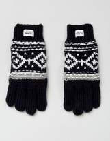 Esprit Fairisle Knitted Gloves