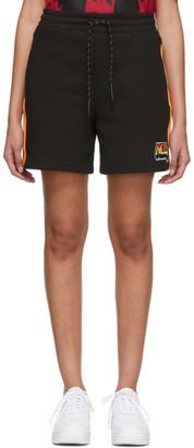 McQ Black Racer Shorts