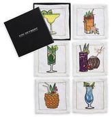 Kim Seybert Cocktail Coasters/Set of 6