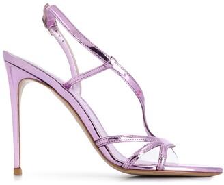 Le Silla Open Toe 110mm Stiletto Sandals