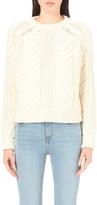 Maje Maxime wool-blend jumper