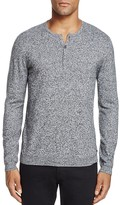 John Varvatos Cashmere Blend Henley Sweater - 100% Bloomingdale's Exclusive