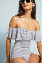 Eberjey Margarita Off-The-Shoulder One-Piece Swimsuit