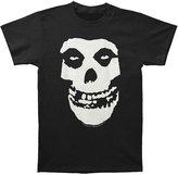 Impact The Misfits Punk Rock Band Distressed Large Skull Logo Adult T-Shirt Tee