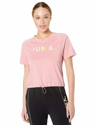Puma Women's Chase V-Neck T-Shirt