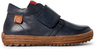 Naturino Toddler/Kids Boys) Navy Leather Chukka Boots
