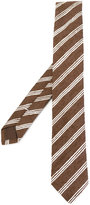 Eleventy woven stripe tie