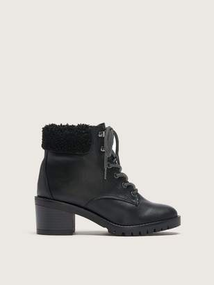 Addition Elle Wide Combat Winter Boots