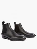 Lanvin Black Leather Chelsea Boots