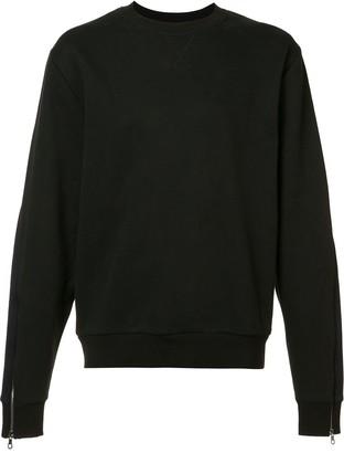 Mostly Heard Rarely Seen Zipped Sleeves Sweatshirt