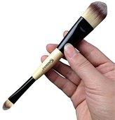 KingMas Dual Ended Concealer/foundation Makeup Brush (Beige)