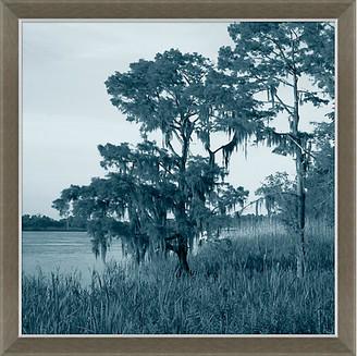 Soicher Marin Navy Landscape Marsh Art