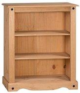 Mercers Furniture Corona Small Bookcase - Pine