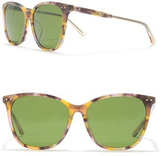 Bottega Veneta 56mm Oversized Sunglasses
