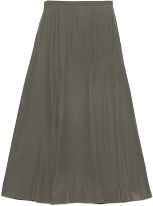 Theory Asymmetric Drape Maxi Skirt