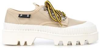 Proenza Schouler lug sole lace-up shoes