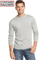 Tommy Hilfiger Men's Big & Tall Signature Solid Crew Neck Sweater
