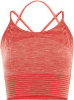 Whistles Halter Crop Sports Bra Top