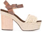 Castaner raffia braided sandals