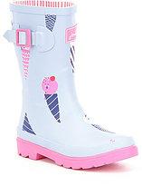 Joules Girl's Welly Waterproof Rainboots