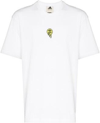adidas by 032c logo-patch crew-neck T-shirt