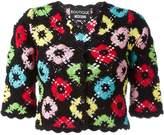 Moschino crochet cropped cardigan