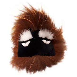 Fendi Bag Bug Brown Mink Bag charms