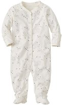 Baby Little Sleepers With Feet In Organic Pima Cotton