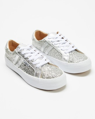 Human Premium - Women's Silver Low-Tops - Pratt - Size 38 at The Iconic