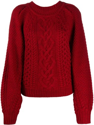 Etoile Isabel Marant Cable Knit Jumper