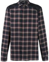 Neil Barrett tartan shirt - men - Cotton - 41