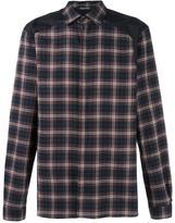 Neil Barrett tartan shirt