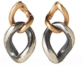 Hum Jewelry Two Chain Link Earrings