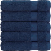 Christy Bamford Towel - Indigo - Bath Sheet