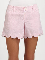 Lilly Pulitzer Buttercup Printed Cotton Shorts