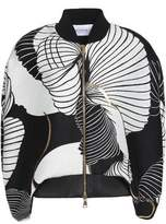 Vionnet Printed Knitted Jacket