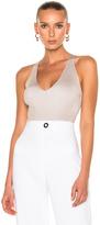 Cushnie et Ochs Deep V Bodysuit