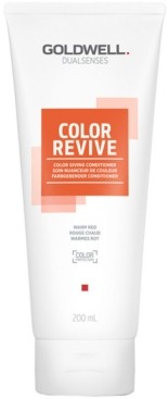 Goldwell Dualsenses Color Revive Conditioner - Warm Red, 6.7-oz, from Purebeauty Salon & Spa