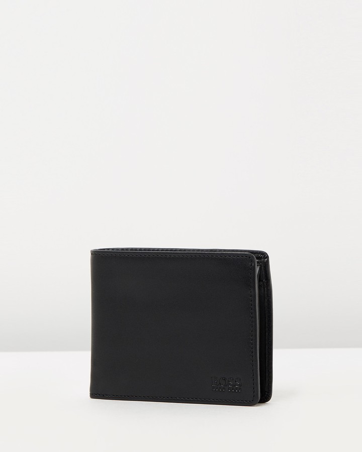 abcad4b14bf Hugo Boss Leather Wallet - ShopStyle Australia