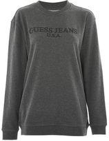 GUESS Classic logo sweat top