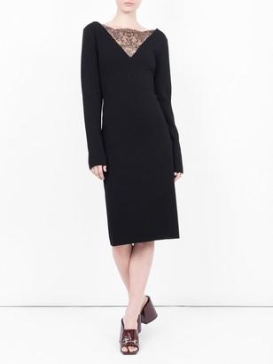Givenchy Lace Decollete Dress