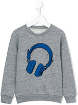 Paul Smith headphones print sweatshirt - kids - Cotton/Polyester - 5 yrs