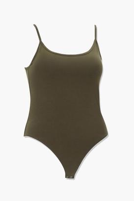 Forever 21 Plus Size Scoop Neck Cami Bodysuit