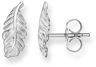 Thomas Sabo Women ear studs feather ear studs 925 Sterling Silver H1789-001-12