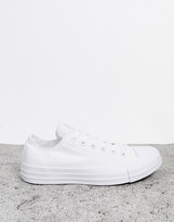 Converse Chuck Taylor All Star Ox White Monochrome Sneakers