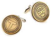 Tokens & Icons Authentic Massachusetts Bay Transportation Authority Transit Token Cufflinks