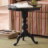 Scalloped Pedestal Table