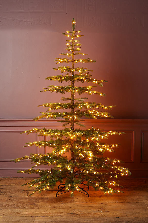 Faux Pre-Lit Big + Bright Noble Fir By Terrain in Assorted Size S