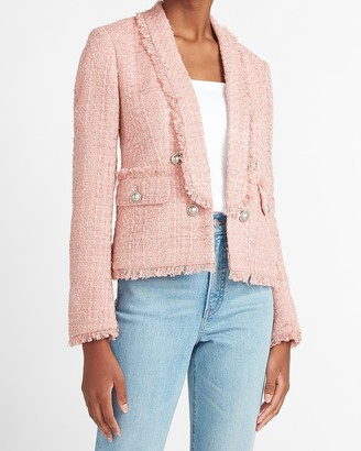Express Button Front Boucle Jacket
