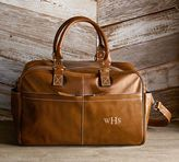 Pottery Barn Beckett Leather Travel Weekender